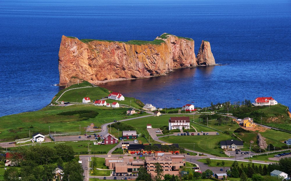 Pierce Rock- Gaspe